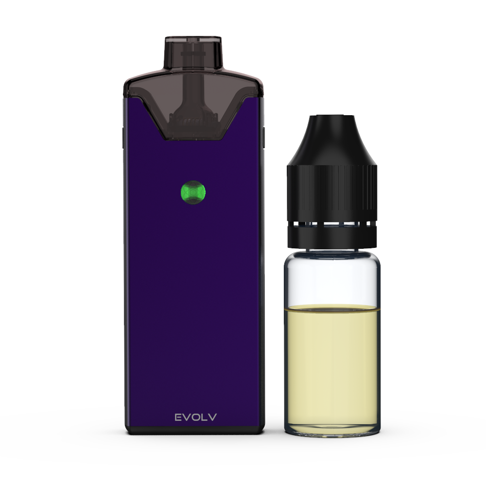 Reflex device with 10ml bottle for scale